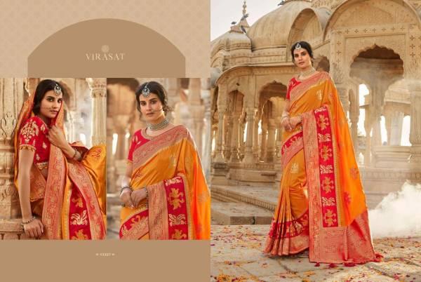 Royal Virasat Vol 41 Pure Silk Designer Wedding Wear Sarees Collection
