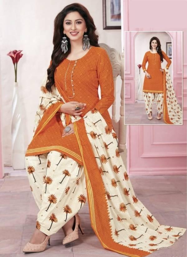 Kesari Trendz Prints Anushka Patiyala Vol 5 Series 5001-5010 Cotton Printed Fancy Casual Wear Readymade Patiyala Suits Collection