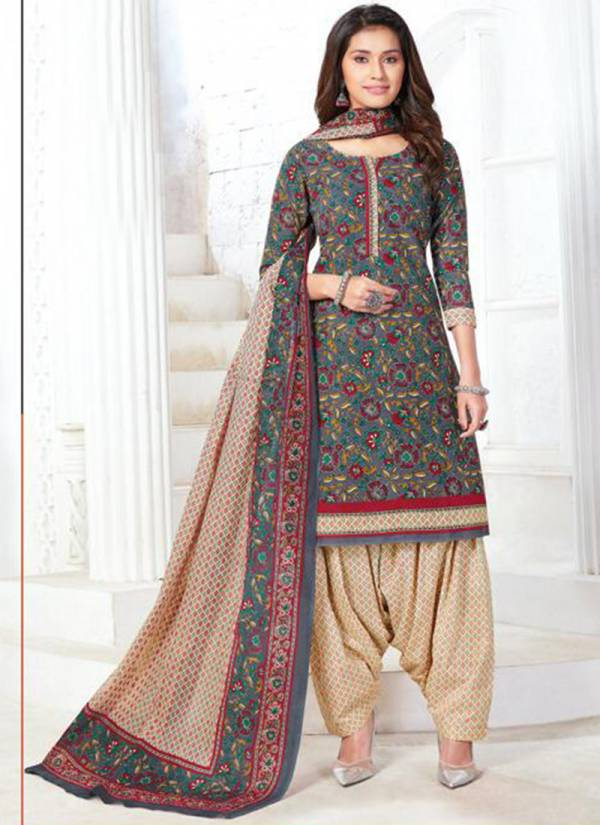Aarvi Fashion Special Patiyala Vol 13 Series 4851-4865 Cotton Printed Daily Wear Latest Readymade Patiyala Suits Collection