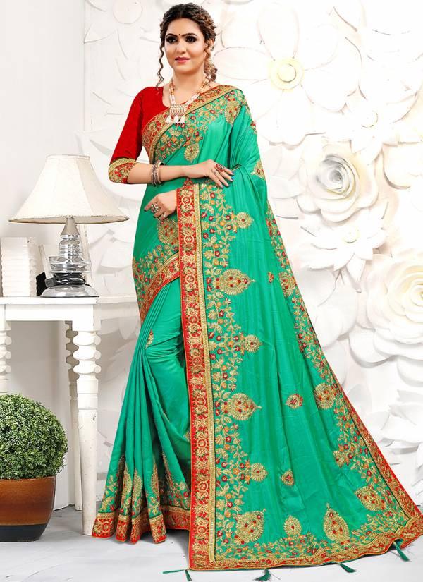 Nari Fashion Sadhna Series 2851-2860 Pure Satin Heavy Resham & Coding Zari Embroidery Work Party Wear Sarees Collection