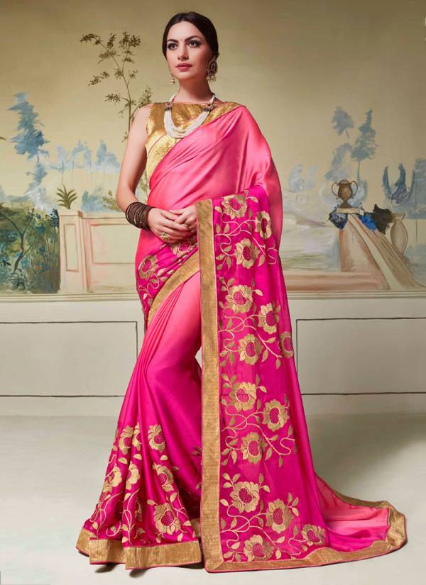 Saroj Rashmi Series 1001-1006 Rangoli Silk With Heavy Fancy Work Designer Festival Season Sarees Collection