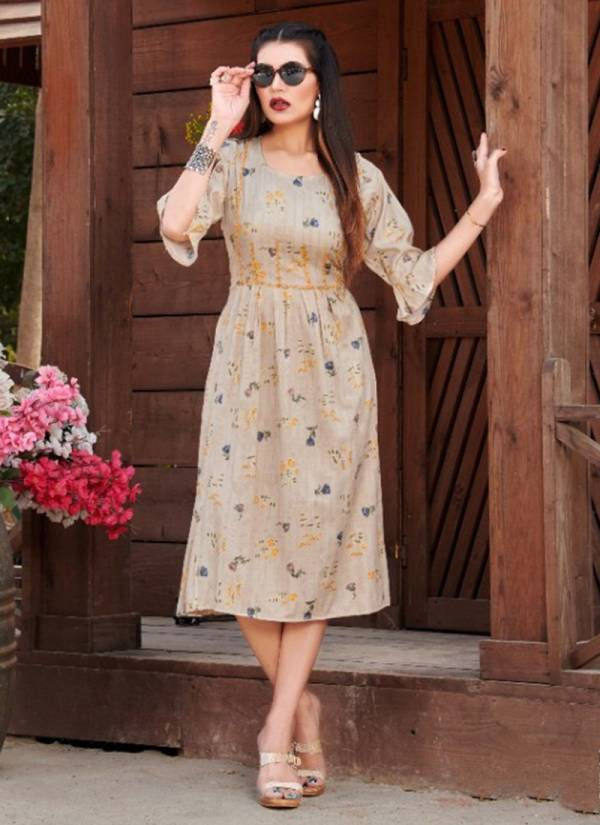 Rung Rishta Heavy Rayon With Foil Printed Fancy Look Kurti Collection