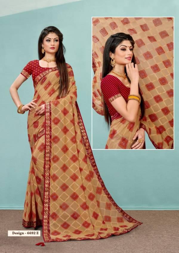 Kodas Humble Georgette With Border Reguler wear Designer Sarees Collection