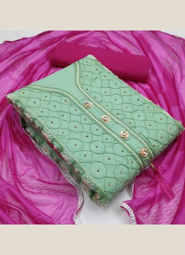 Designer Suits Series 80001- 80008 PC Cotton Latest Fancy Work Designer Salwar Suits Collection