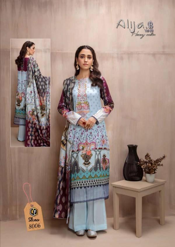 Keval Fab  Alija-B vol-8 Cotton Fancy Digital Print Designer Palazzo Suit Collection