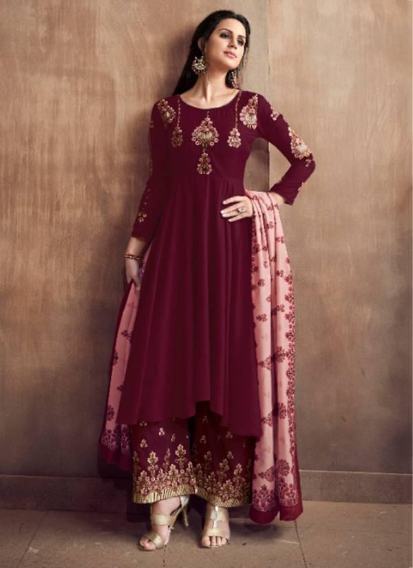 Sajawat Creation Sarthi Vol 2 Sarthi511-Sarthi516 Embroidery Work Pure Muslin New Designer Readymade Salwar Suits Collection