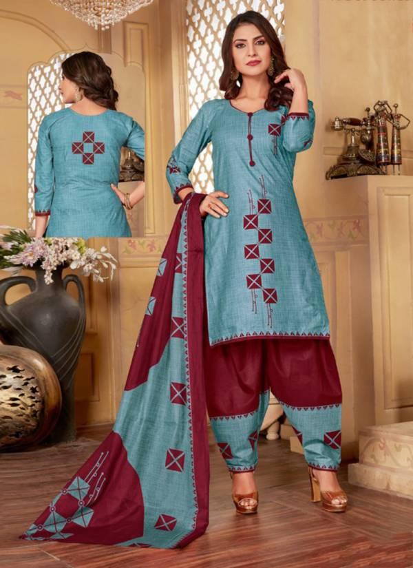 Akash Creation Padmavati Vol 11 Series 11001-11010 Pure Cotton New Designer Regular Wear Suits Collection