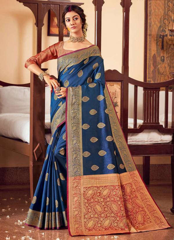 Sangam Series Sgcha10001-Sgcha10006 Chandrakala Festival Wear Handloom Silk Latest Adorable Sarees Collection