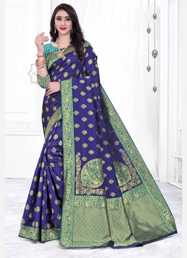 Kodas Ugly Series 8323A-8323D Handloom Cotton Silk With Jacquard Work Festival Wear Latest Designer Sarees Collection