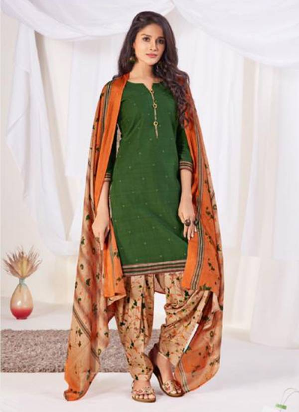 Suryajyoti Sui Dhaga Patiyala Vol 8 Series 8001-8015 Cotton New Fancy Casual Wear Readymade Patiyala Suits Collection