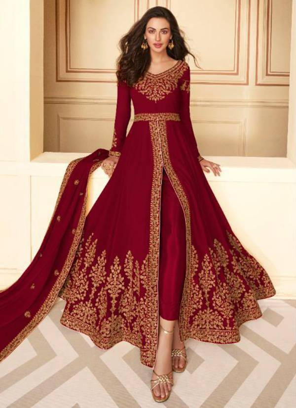 Aashirwad Paakhi Series 7213-7217 Real Georgette Exclusive Latest Designer Wedding Wear Anarkali Suits Collection
