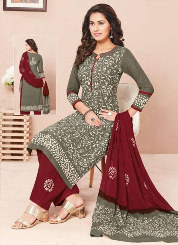 Aarvi Fashion Battik Special Vol 12 Series 4761-4772 Pure Cotton With Printed New Fancy Regular Wear Readymade Salwar Suits Collection
