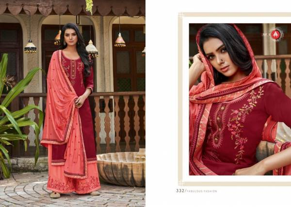 KVS Kalash Vol 2 Series 331-336 Latest Desiner Jam Silk Wth Embroidery Work Traditional Wear Suits Collection