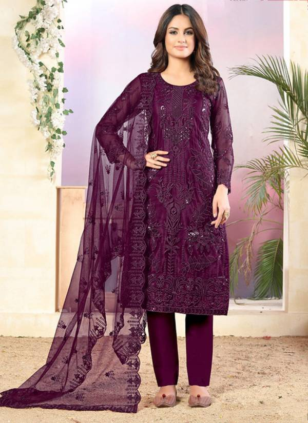 Dani Fashion Vaani Vol 3 Series 31-34 Net With Santoon Inner Festival Wear Straight Suits Collection