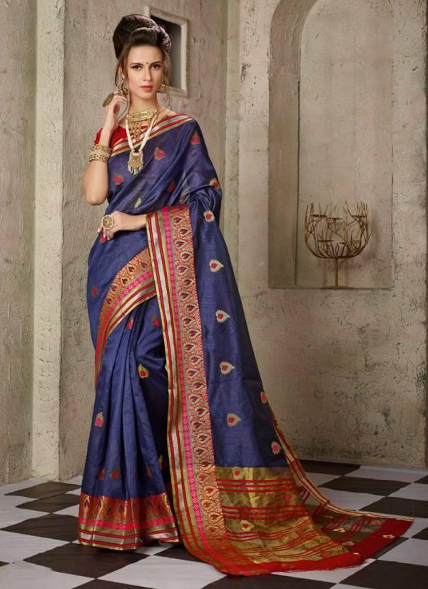 Shakunt  Alaknanda Cotton Silk With Zari Butti And Beautiful Borde Traditional Wear Designer Sarees Collection