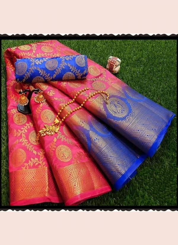 Nakshatra Fashion Studio Nylon Silk Fancy Embroidery Work  With Rich Pallu Designer Sarees Collection