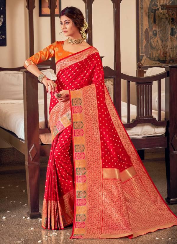 Asisa Sukanya Series 7501-7504 Banarasi Silk Traditional Wear New Designer Party Wear Sarees Collection
