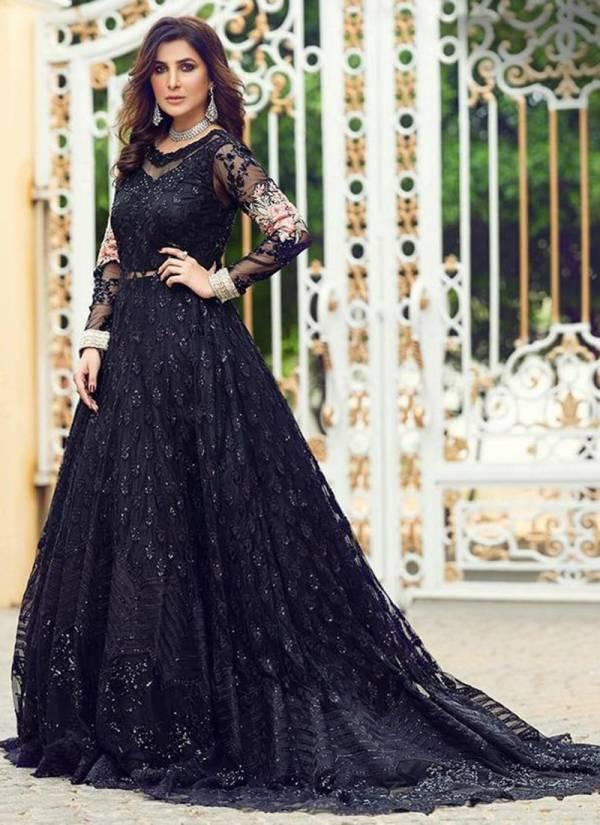 Rinaz Fashion Rim Zim Vol 2 Series 1116-1128 Butterfly Net Heavy Embroidery & Diamond Work Wedding Wear Pakistani Suits Collection