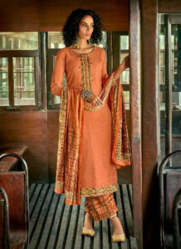 Sanskruti Alfaaz Series 831-840 Winter Season Pure Pashmina Digital Printing With Fancy Work New Designer Salwar Suits Collection