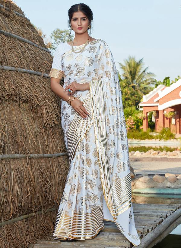 Shubhkala Sangini Vol 2 Series 4511-4514 Silk With Foil Printed Latest Designer Party Wear Sarees Collection