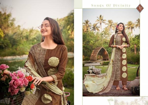 Tanishk Fashion Tesla Pure Lawn Cambric Stylish Palazzo Suits Collection