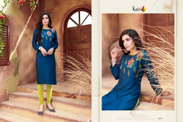 Volono Trendz Florence Vol 2 Reyon With Fancy Digital Embroidery Work Causal Wear Kurti Collection