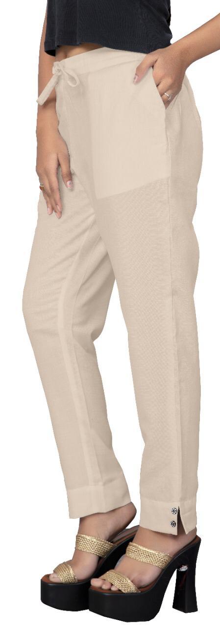 Poorvi Pencil Pant Series 01-12 Cotton Slub New Fancy Daily Wear Pencil Pants Collection