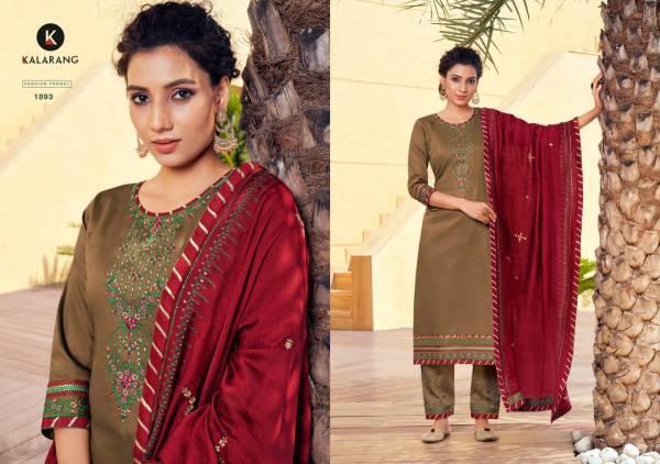 Kalarang Mastani Jam Silk Sequence Work Designer Salwar Suits Collection