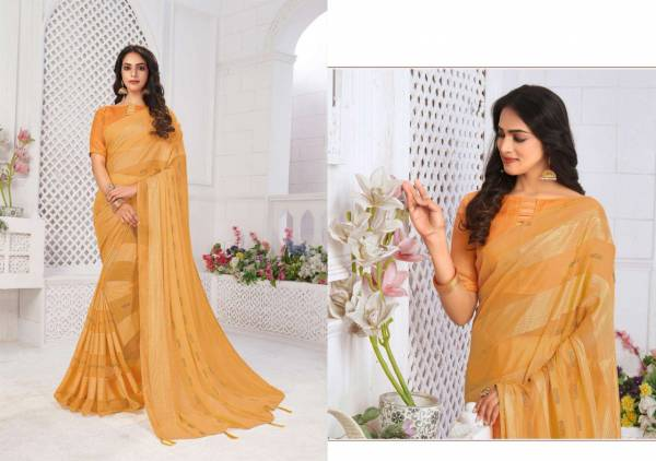 Saroj Tumbin Weightless Fancy Satin Patta Wedding Wear Designer Sarees Collection