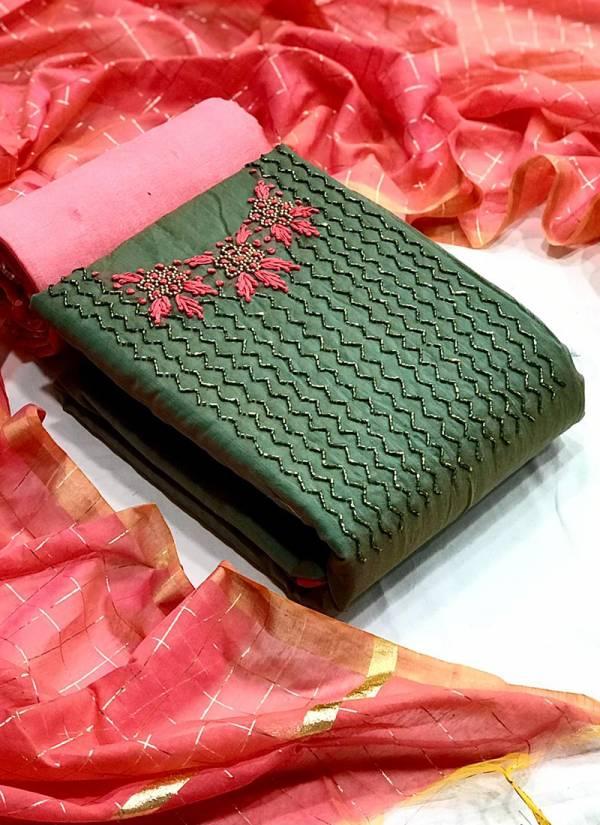VT Designer Modal Chanderi Silk With Hand Work Festival Wear Designer Non Catalog Salwar Suits Collection