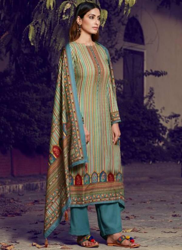 Rama Raazi Rangvesh Series 1001RR-1008RR Winter Season Pashmina Dobby Digital Print Daily wear Suits Collection