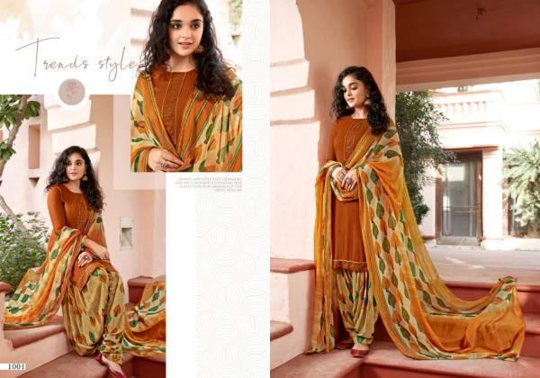 Sweety Fashion Fanta Rayon With Swarovski Work Fancy Border Patiyala Salwar Suit Collections