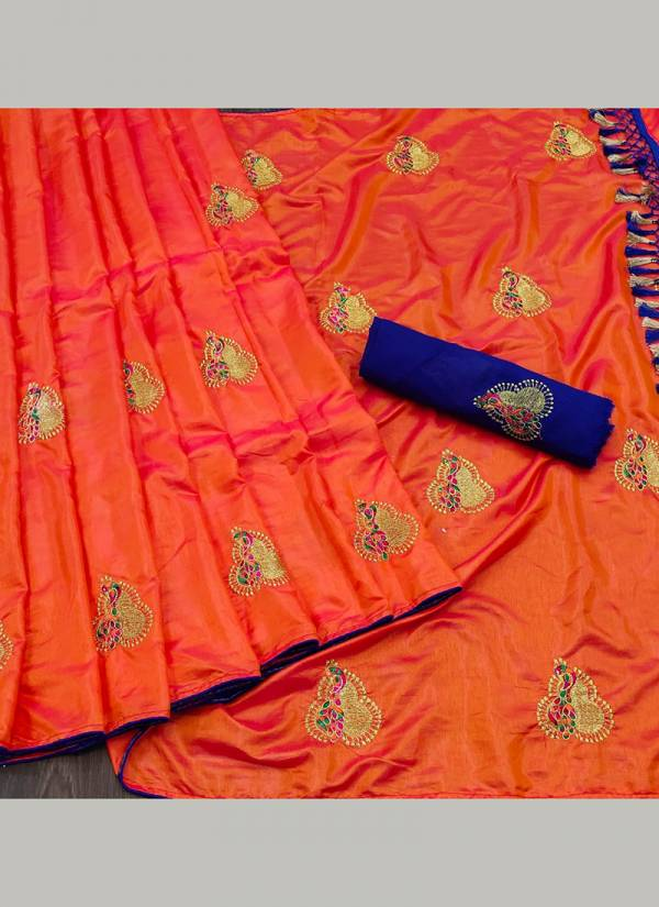 Razzo Export Sana Silk Series 01-07 Sana Silk Embroidery With Piping And Jhalar Designer Traditional Wear Sarees Collection