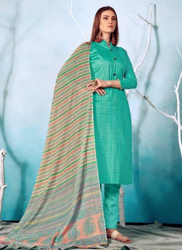 Hariks Gulaal Vol 62 Series 62001-62008 Cotton Silk Printed New Designer Churidar Suits Collection