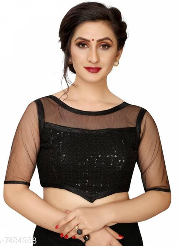Ruhi Fashion Series PW1-PW3 Fancy Sequence Work Party Wear Blouse Collection