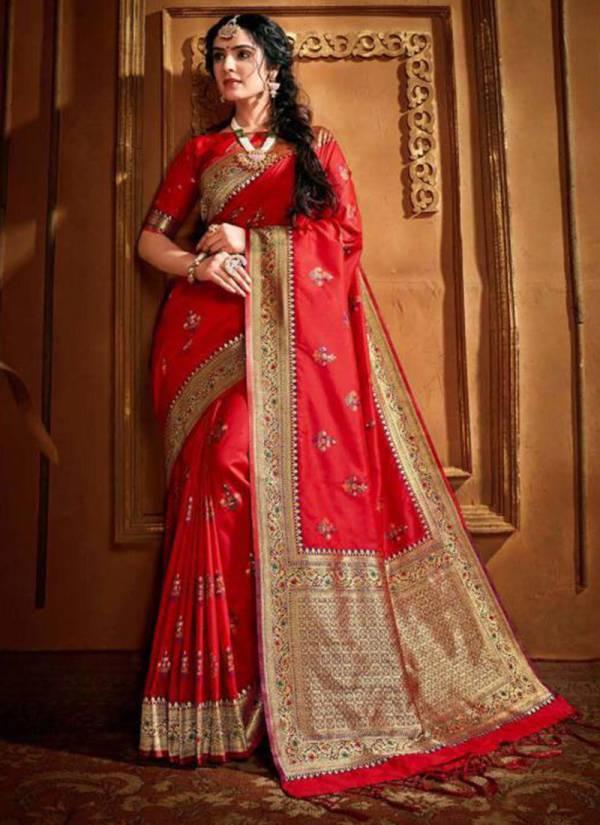 Shruti Textile Radharani Silk Latest Designer Exclusive WEdding Wear Sarees Collection