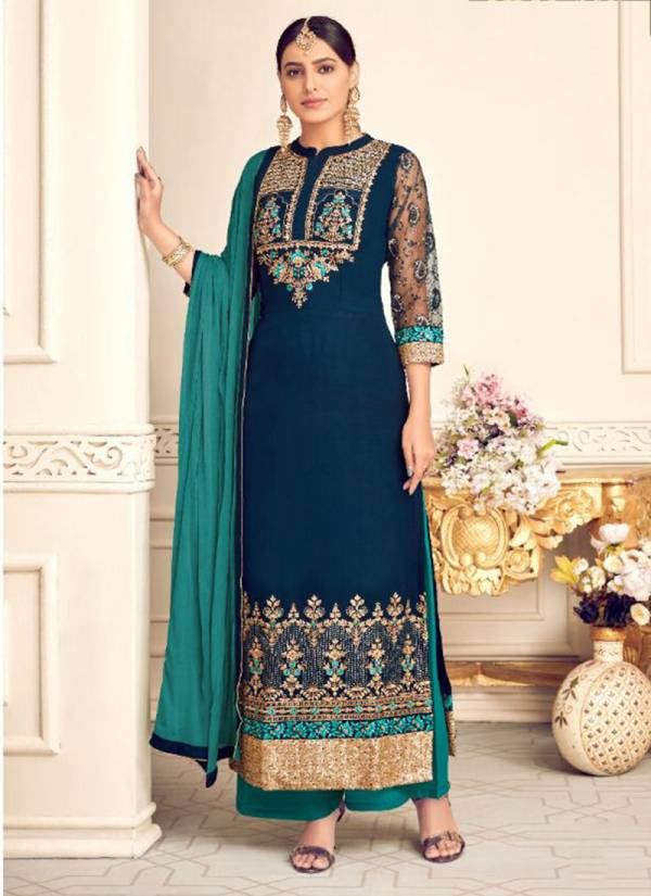 Hotlady Mishti Series 6131-6137 Viscose Georgette Festival Wear Suits Collection