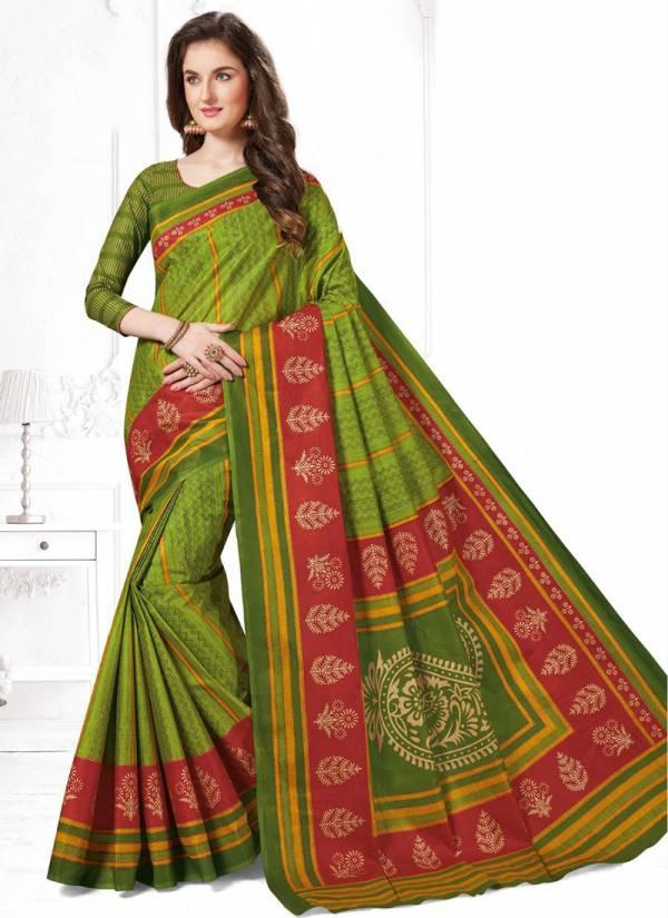 JK Cotton Vaishali Vol 3 Pure Cotton Printed Exclusive Stylish Look Designer Sarees Collection