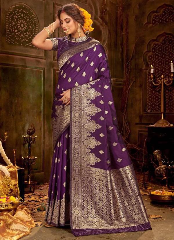 Varni Fabric  Zeeyanshi Silk Series 2307-2312 Soft Banarasi Silk With Jacquard Weaving Work Exclusive Designer Wedding Wear Sarees Collection