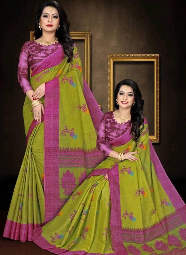 Jonam Karishma Vol 12 Pure Cotton With Latest Printed Casual Wear Saree Collection
