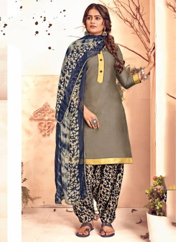 Sweety Fashion Rajjo Vol 52 Series 2001-2012 Glace Cotton Casual Wear Patiyala Suits Collection