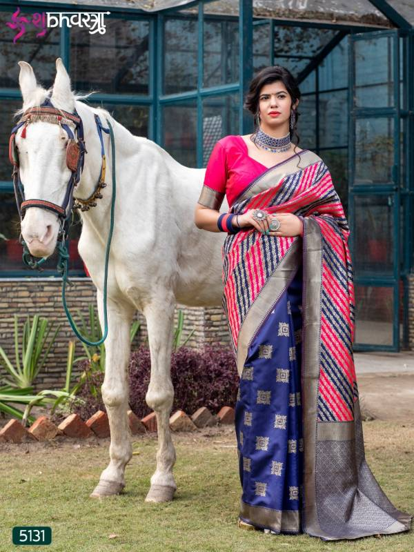 Shubh Vastra Rajwadi Vol 2 Series 5131-5135 Exclusive Rajwadi Silk Stunning New Designer Sarees Collection