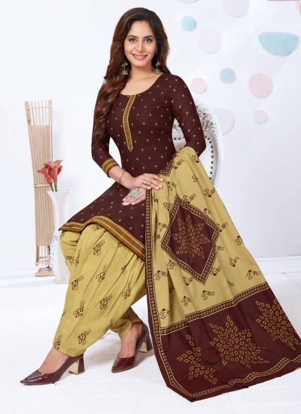 Kuber Geet Patiyala Vol 6 Series 603-614 Pure Cotton Fancy Printed Exclusive Designer Daily Wear Patiyala Suits Collection