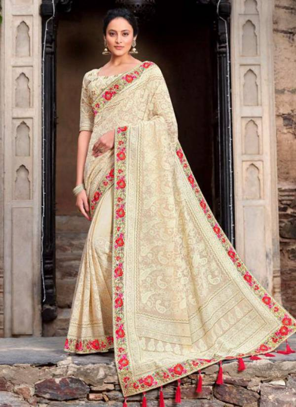 Monalisa Series 1108-1114 Viscose Georgette Satin Party Wear Designer Sarees Collection