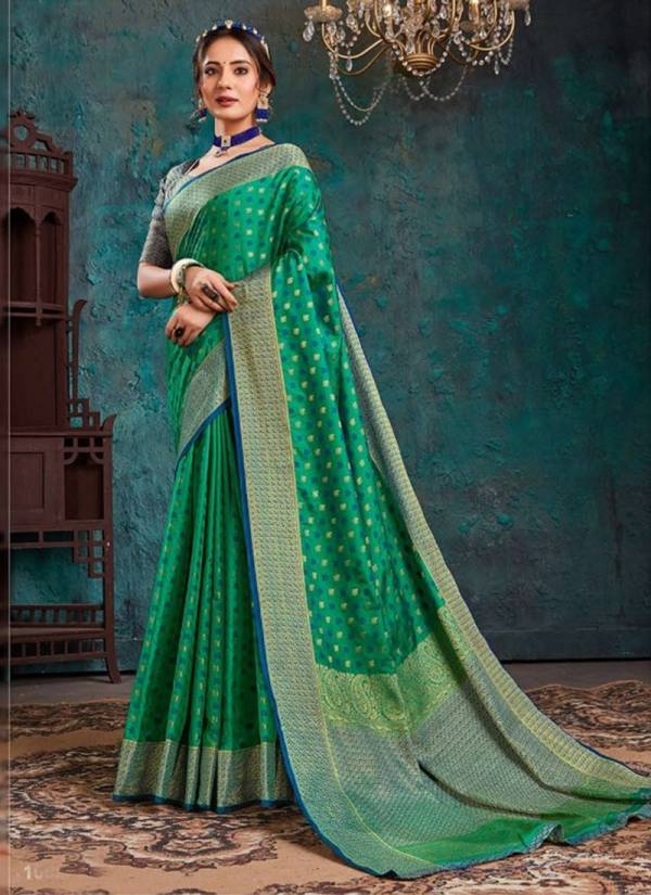 Saroj Aashikee Series 1001-1006 PC Silk With Rich Pallu Latest Designer Sarees Collection