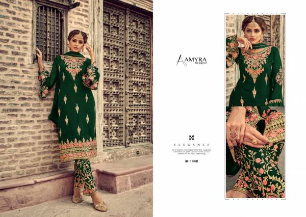 Amyra Designer First Look Vol 2 Heavy Georgette With Work Suits Collection