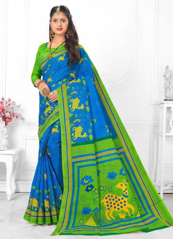 JK Cotton Krishna Vol 1 Pure Cotton Latest Designer Printed Exclusive Sarees Collection