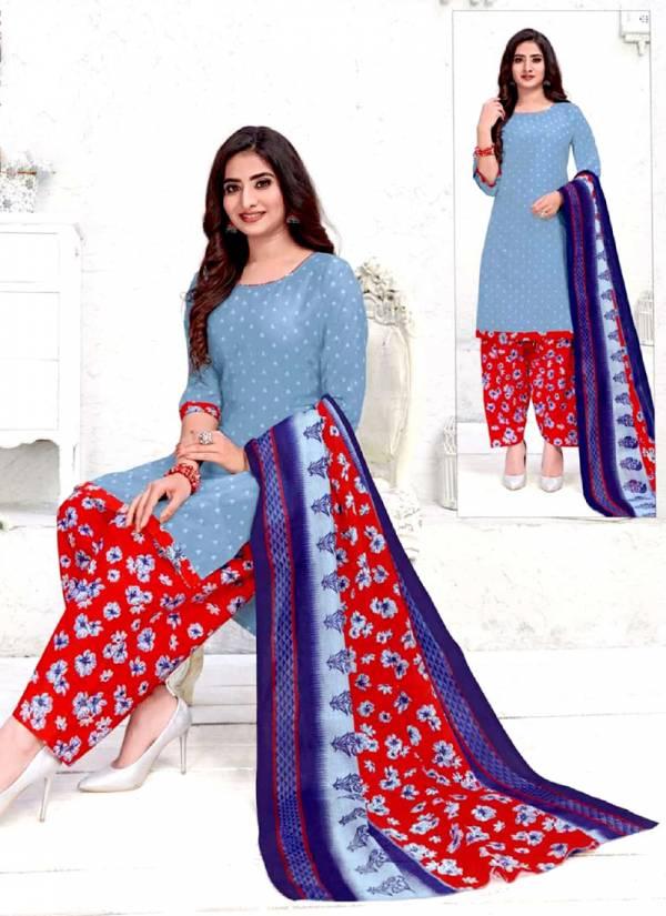 Bandhan Priyalaxmi Vol 1 Series 1001-1015 Printed Cotton Regular Wear Latest Designer Readymade Patiyala Suits Collection