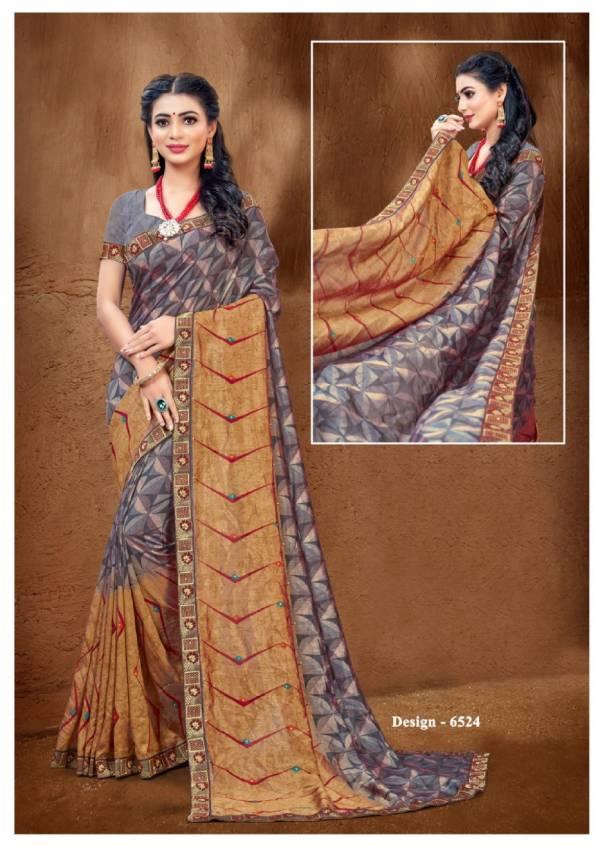 Kodas Sitka Khushboo Vol 7 Vichitra Silk Printed Daily Wear Sarees Collection