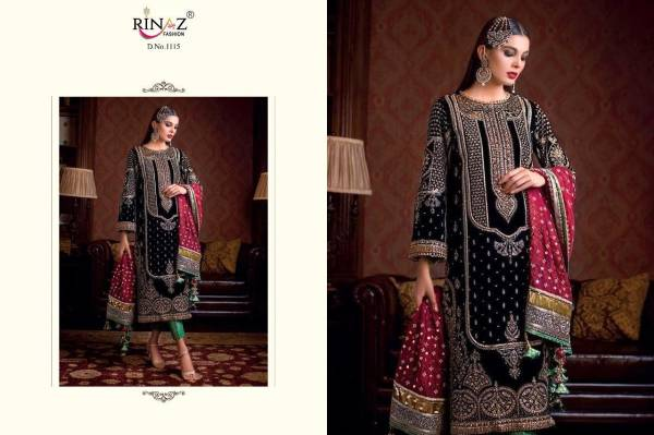 Rinaz Fashion Series 1082-3104 Faux Georgette With Heavy Embroidery Work Eid Special Pakisatni Suits Collection